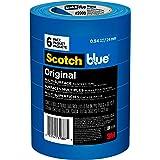 ScotchBlue Painter's Tape Original Multi-Surface, .94-Inch x 60-Yard, 6 Rolls