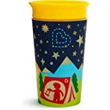 Munchkin Miracle 360 Degree Glow in The Dark Sippy Cup, 9 Oz, Camping, Yellow