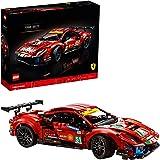 "LEGO Technic Ferrari 488 GTE ""AF Corse #51"" 42125 Building Kit; Make a Faithful Version of The Famous Racing Car, New 2021 (1"