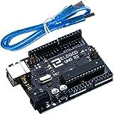 ELEGOO Arduino用 UNO R3コントロールボード ATmega328P +USBケーブル