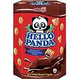 Meiji Hello Panda Biscuit, Chocolate, 260g