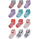 Cherokee Little Girls' 12 Pack Shorty Socks