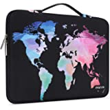 MOSISO Laptop Sleeve 360 Protective Case Bag Compatible with 13-13.3 inch MacBook Pro, MacBook Air, Notebook with Trolley Bel