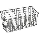 "Spectrum Diversified Pegboard & Wall Mount Basket, 15"" x 5"" x 7"", Industrial Gray"