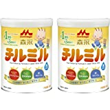 【Amazon.co.jp限定】 森永 フォローアップミルク チルミル 大缶 820g×2缶パック [満1歳頃~3歳頃 粉ミルク]
