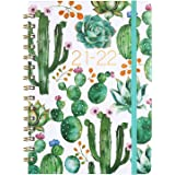 """Planner 2020 - Weekly & Monthly 2020 Planner Jan - Dec, 8.5"""" x 6.4"""", Flexible Hardcover, Strong Twin - Wire Binding, Thick Pa"""