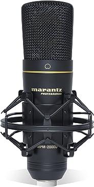 マランツプロ USBコンデンサーマイク 生放送・録音 ショックマウント・ケース付 MPM2000U