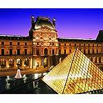 世界遺産 Android(960×800)待ち受け パリのセーヌ河岸VII-ルーヴル美術館[フランス]
