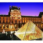 世界遺産 Android(960×854)待ち受け パリのセーヌ河岸VII-ルーヴル美術館[フランス]
