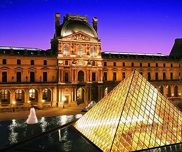 世界遺産  iPhone/Androidスマホ壁紙(960×800)-1 - パリのセーヌ河岸VII-ルーヴル美術館[フランス]