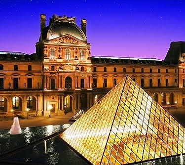 世界遺産  iPhone/Androidスマホ壁紙(960×854)-1 - パリのセーヌ河岸VII-ルーヴル美術館[フランス]
