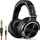OneOdio Adapter-Free Closed Back Over-Ear DJ Stereo Monitor Headphones, Professional Studio Monitor & Mixing, Telescopic Arms