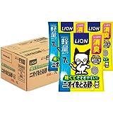 【Amazon.co.jp限定】ライオン (LION) ニオイをとる砂 猫砂 軽量タイプ 7Lx3袋 (ケース販売)