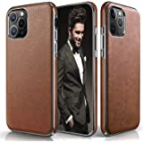 LOHASIC iPhone 11 Pro Max Case, Slim Thin Luxury PU Leather Non Slip Soft Grip Flexible Shockproof Cases Compatible with Appl