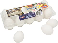 Chew's Omega 3 Fresh White Eggs, 550g