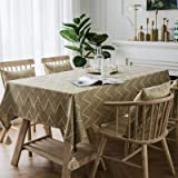 Tablecloth, Water-Resistant Ironing Tablecloth, Wave Triangle Jacquard Tablecloth, Household Dining Table, Coffee Table, Part