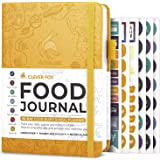 Clever Fox Food Journal - Daily Food Diary, Meal Planner to Track Calorie and Nutrient Intake, Stick to a Healthy Diet & Achi