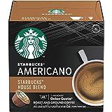 Starbucks House Blend – Americano by Nescafe Dolce Gusto, 12 Servings