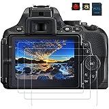 PCTC Screen Protector foil for Nikon D5300 D5500 D5600 Tempered Glass anti-scratches anti Dust anti Fingerprint waterproof (3