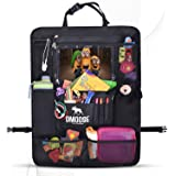 Car Backseat Organiser with Tablet Holder for Kids and Toddlers by DMoose 60cm -by-48cm (Large) - Insulated Thermal Pockets,