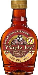 メープルジョー(Maple Joe) メープルシロップアンバー(リッチテイスト) PET 450g