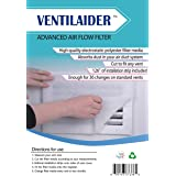"Ventilaider Complete Air Vent Filter Set 20"" x 84"" Electrostatic Media With 126"" of Installation Tape 35+ Filters per Roll fo"
