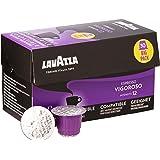Lavazza Espresso Vigoroso Coffee Capsules Compatible with Nespresso, Pack of 30 Capsules