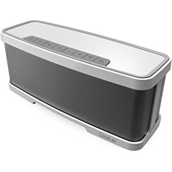iDeaUSA Bluetooth 4.1 スピーカー ワイヤレススピーカー/2.1チャンネルサラウンドサウンド/20W出力オーディオステレオスピーカー/ポータブルスピーカー/高音質/10時間連続再生可能/マイクロフォン付き/通話可能