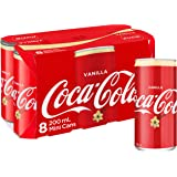Coca-Cola Vanilla Soft Drink Mini Cans 8 x 200mL