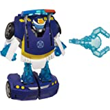 TRANSFORMERS Rescue Bots Energize - Chase the Police Bot Converting Robot Action Figure - Playskool Heroes - Kids Toys - Ages