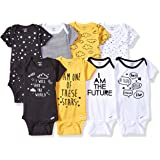 Gerber Baby-Boys 8-Pack Short-Sleeve Onesies Bodysuit Infant-and-Toddler-Bodysuits