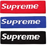 Sportula Supreme Headband Cotton Headbands Sports Head Hair Fleece Headband - 3 Pack