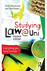 Studying Law at University: Everything you need to know Kindle Edition