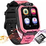Kids Smart Watch for Girls Boys, Child Smartwatches for Kids Educational, HD Touch Screen Games Watch Children Electronic Lea