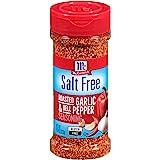 McCormick Salt Free Roasted Garlic & Bell Pepper Seasoning, 4.34 oz (Pack of 6)