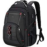 KROSER Travel Laptop Backpack 17 Inch Large Computer Backpack Stylish College Backpack with USB Charging Port & RFID Pockets
