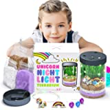Unicorn Gifts for Girls - Unicorn Terrarium Kit - Gifts for 8 Year Old Girls - Unicorn Bedroom Decor for Girls - Big Sister G