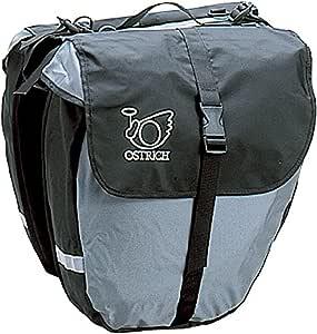 オーストリッチ(OSTRICH) パニアバッグ [P-115] グレー 左右セット