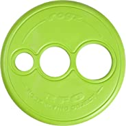 Rogz RFO Frisbee Dog Toy, Lime