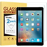 "[2 Pack] New iPad 9.7"" (2018 & 2017) / iPad Pro 9.7 / iPad Air 2 / iPad Air Screen Protector, SPARIN Tempered Glass Screen Pr"