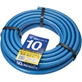 アイリスオーヤマ ホース パーツ 耐圧糸入りカットホース 10m ブルー