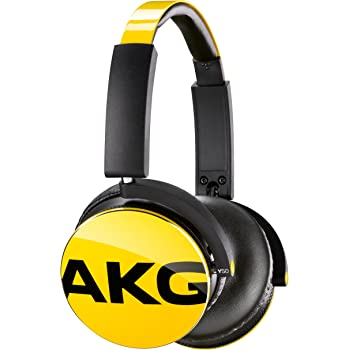 AKG Y50 ヘッドホン 密閉型/オンイヤー イエロー Y50YEL 【国内正規品】