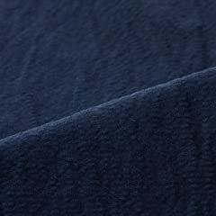 New Dover Cotton Linen Seersucker X2902E C033: Navy