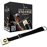 Cello Endpin Stopper (Tanbi Music CES101): Non-Slip Adjustable Strap Anchor