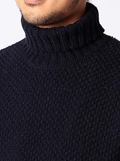 Middle Gauge Turtleneck Sweater 11-15-0544-823: Navy