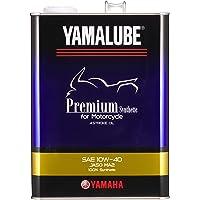 ヤマハ(YAMAHA) 二輪車用エンジンオイル ヤマルーブ プレミアムシンセティック MA2 10W-40 4L 907…