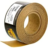 """Dura-Gold - Premium - 80 Grit Gold - Longboard Continuous Roll 20 Yards long by 2-3/4"""" wide PSA Self Adhesive Stickyback Long"""