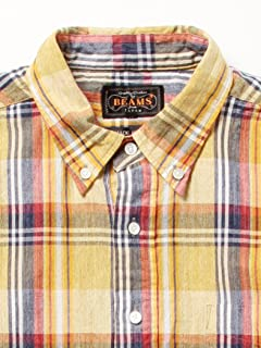 Speck Dyed Pullover Buttondown Shirt 11-01-0437-139: Yellow