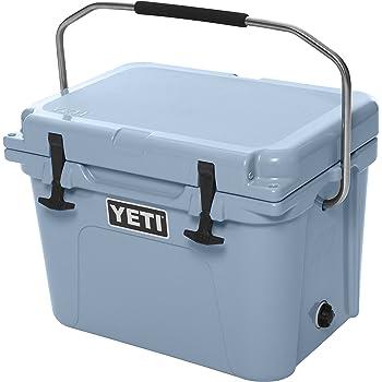 Yeti(イエティ) Roadie (ローディー) 20QT (18.11L) Cooler クーラー BOX バーベキュー キャンプに最適 日本未発売 Ice Blue [並行輸入品]