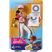 バービー(Barbie) 東京オリンピックライセンス バービー ソフトボールのせんしゅ 東京2020オリンピック 【 着…